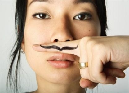 Чому у жінок ростуть вуса?