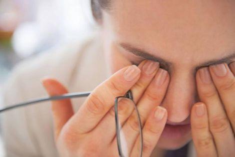 Подразнення очей може свідчити про пухлину
