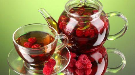 Малиновий чай
