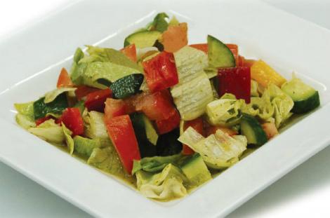 Низькокалорійний салат для схуднення