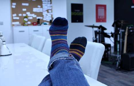 Шкарпетки дозволяють зігрівати ступні ніг, що розширює кровоносні судини