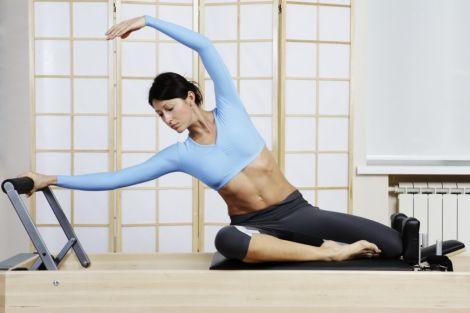 Пілатес розвиває гнучкість тіла
