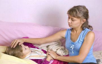 Дитина захворіла: перші діїі