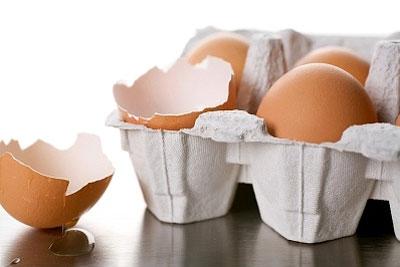 Яєчна шкаралупа корисна