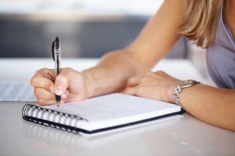 Різка зміна почерку