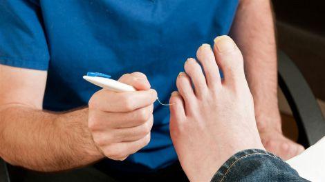 Коронавірус та пальці ніг