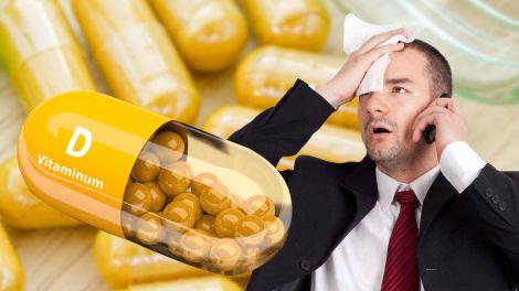 Дефіцит вітаміну D: незвичайна рання ознака вкаже на проблему