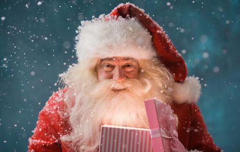 Санта Клаус та коронавірус