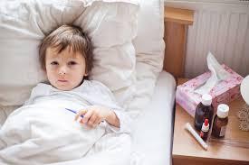 Діти часто хворіють грипом