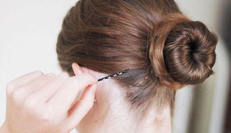 Зачіска гулька