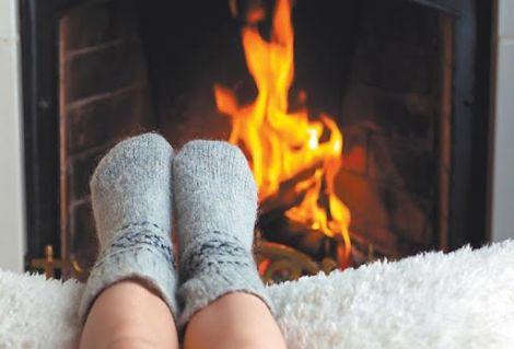 Як зігріти змерзлі ноги?