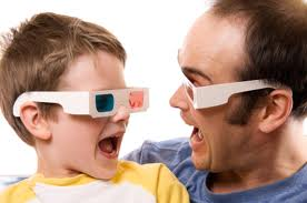 перегляд фільмів у 3-D може зашкодити нашим очам