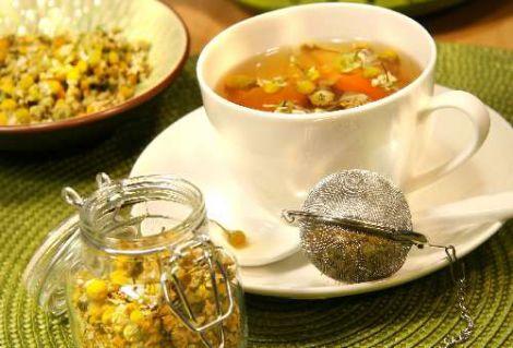 Чай з ромашки
