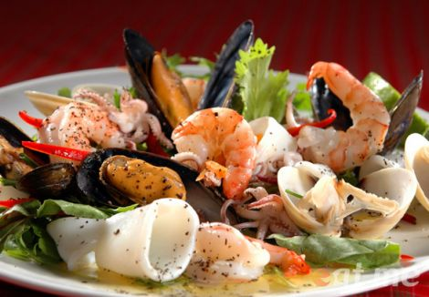 Смачні та корисні морепродукти