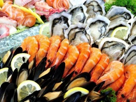 Корисні морепродукти