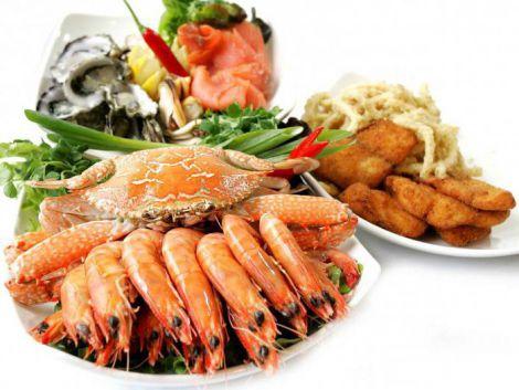 Морепродукти корисні для щитоподібної залози