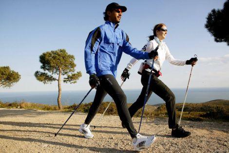 Переваги скандинавської ходьби