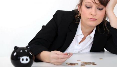 Жінки заробляють менше