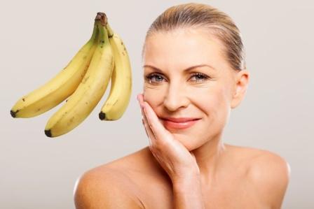 Бананово-медова маска від зморшок