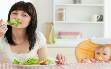 Дієта після родів: як швидко схуднути