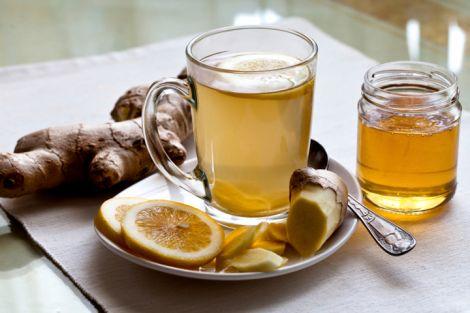 Імбирний чай від переїдання