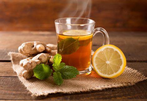 Лікувальний напій з медом та імбирем