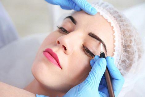 Процесс перманентного макияжа