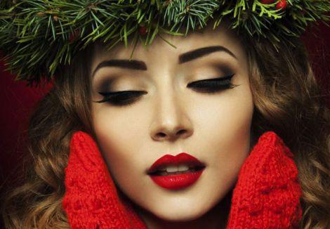 Новий рік з красивим макіяжем (ВІДЕО)
