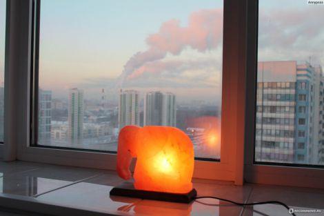 Соляна лампа