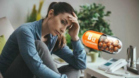 Дефіцит B12: одночасний прийом з іншим вітаміном погіршить стан