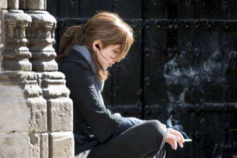 Відмова жінок від куріння