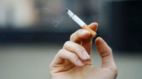 Вплив куріння на зір