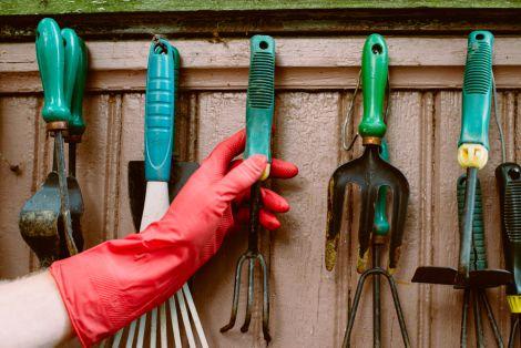 Садовый инвентарь: особенности хранения и ухода