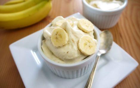 Смачне бананове морозиво