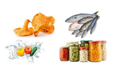 Небезпечні продукти, які можуть містити збудники ботулізму