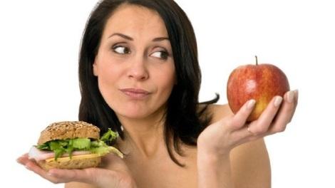 Між гамбургером і яблуком обирайте яблуко!