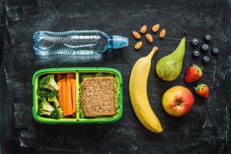 Варіанти перекусів для для дітей у школу