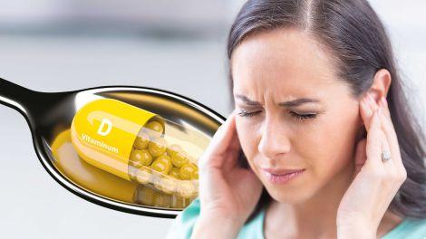 Дефіцит вітаміну D часто зустрічається у людей з характерним симптомом у вухах