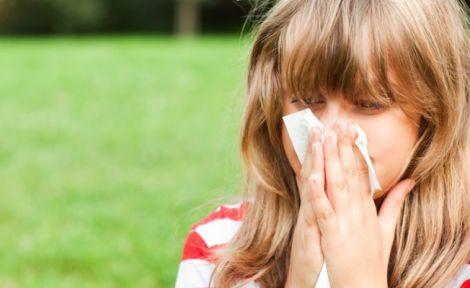 Алергія на цвітіння рослин