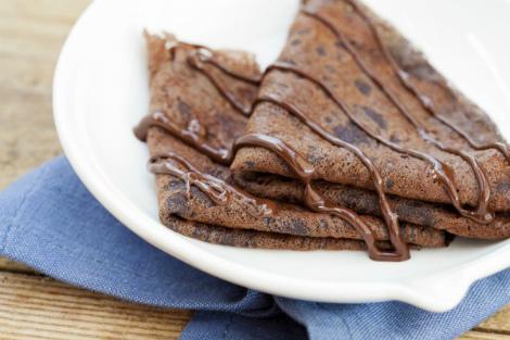 Корисні шоколадні млинці для дітей