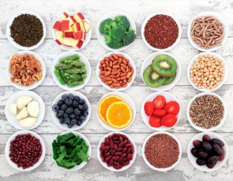 Продукти з антиоксидантами