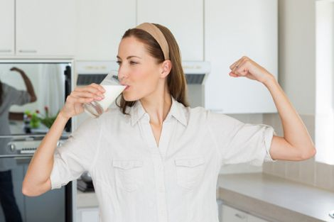 як пити молоко