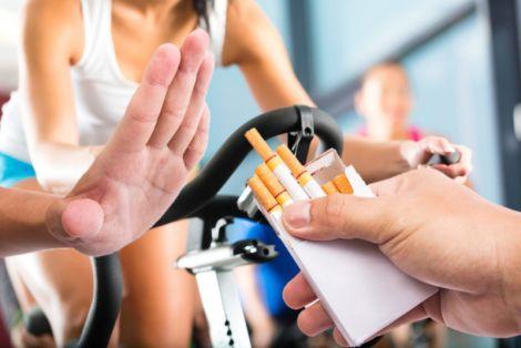 Фізична активність позбавить від куріння