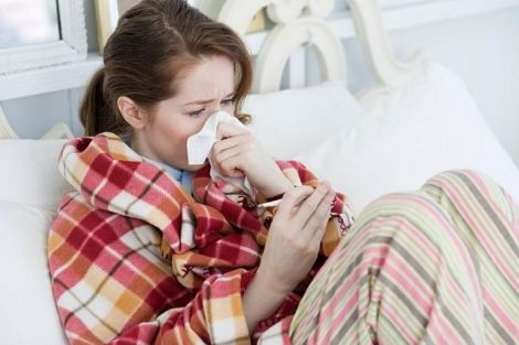 Простуда в период лактации