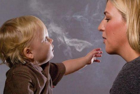 пасивне куріння у ранньому віці може спричинювати серйозні проблеми з легенями