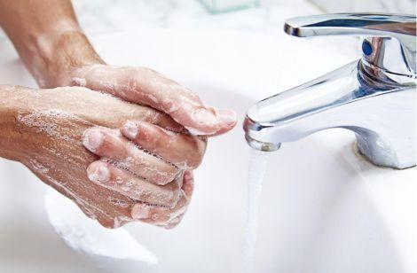 Коротка інструкція про правильне миття рук