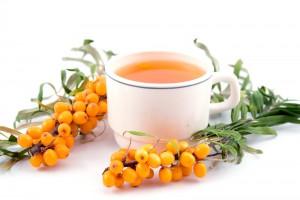 чай з обліпихи допоможе при застуді