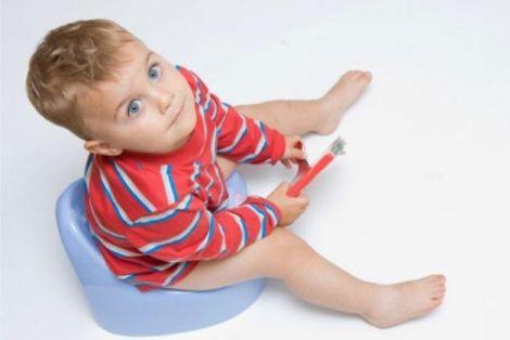 Тривале сидіння на горщику може провокувати геморой у дитини