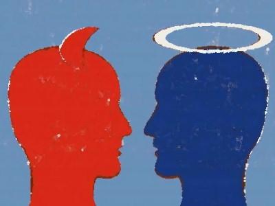 Совість допомагає поділяти вчинки на хороші і погані
