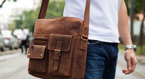 Выбор мужской сумки